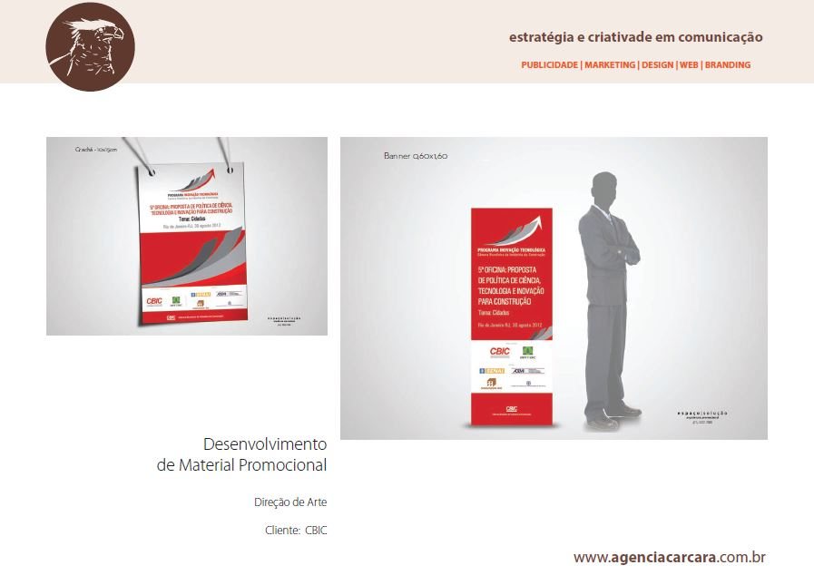 Branding CBIC: Desenvolvimento de Material Promocional