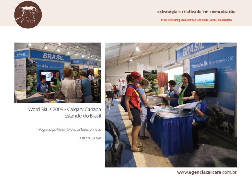 Evento Word Skills 2009 em Calgary no Canadá