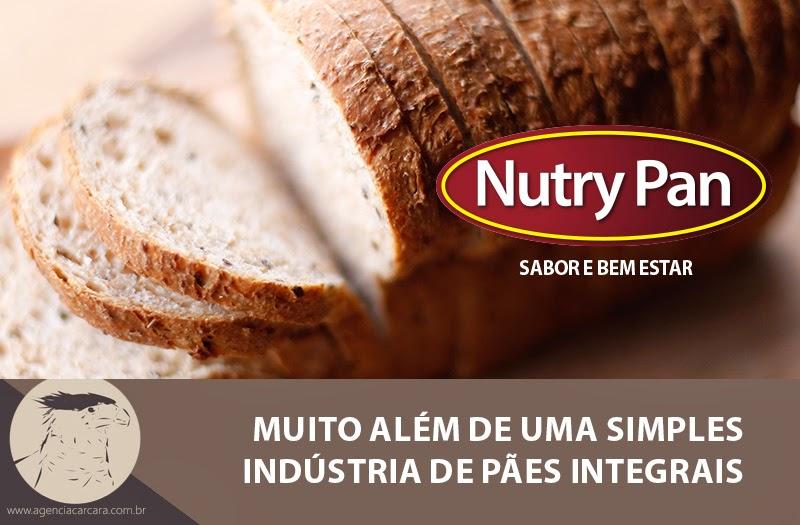 Com alegria que a Agência Carcará de Publicidade oficializa e entrega a nova marca da fábrica de pães integrais NUTRY PAN. Uma fábrica que nasceu em Brasília onde começara 2015 com uma nova identidade visual e uma nova abordagem com o mercado!