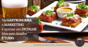 Isso é fato! O marketing gastronômico está ajudando a colocar a gastronomia no centro das atenções em Brasília, um mercado que era pouco atuante na mídia hoje começa a se destacar. Seja você um chef de cozinha, dono de um restaurante, bar ou food truck. Agência Carcará de Publicidade em Brasília