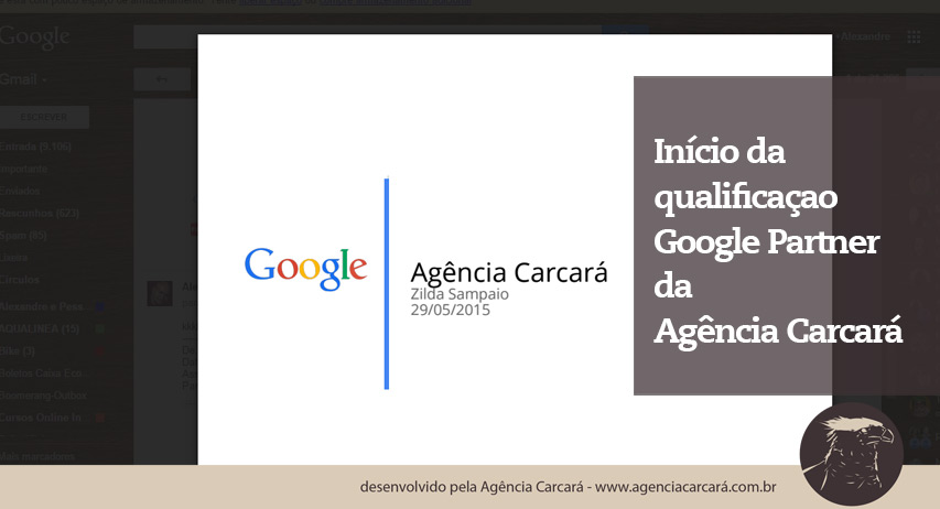 E hoje dia 29 de Maio recebemos uma ligação muito especial! Uma ligação do Google apresentando que a Agência de Publicidade em Brasília Carcará está qualificada para ser uma Google Partiner em Brasília.