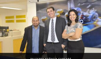palestra agencia carcara nos Correios sobre a era das lojas virtuais