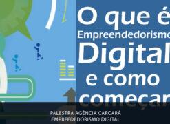 A Agência Carcará realizou uma ótima palestra sobre Empreendedorismo Digital e os desafios do novo perfil de empreendedor.