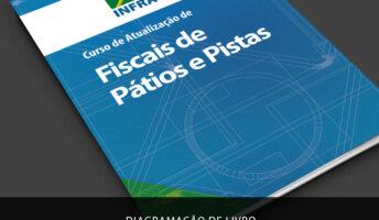 Diagramação Revista Infraero Curso de Fiscais de Pátios e Pistas