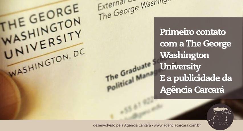 E graças ao nosso planejamento estratégico de SEO para sites, a The George Washington University nos encontrou! Onde realizamos uma ótima reunião sobre estratégias de marketing e publicidade em Brasília!