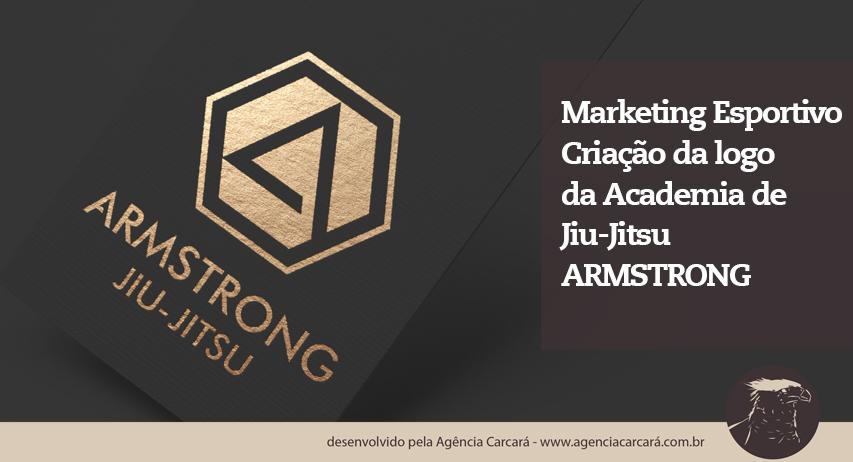 O sonho de todo atleta, academia ou empresário é ter uma logo que represente sua marca, dando início ao marketing esportivo! Confira o processo criativo na elaboração da logo da Academia de Jiu-Jitsu Armstrong