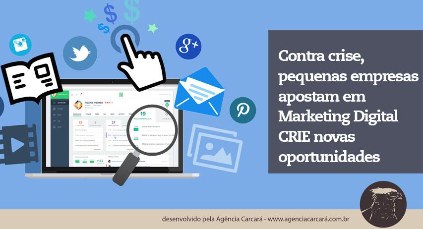 Essa visão estratégica é compartilhada por nossos clientes de publicidade, todos estão investindo mais em marketing digital para suportar a crise financeira do Brasil.