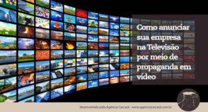 A televisão (TV) ainda é um ótimo meio para divulgar sua empresa. Saiba como anunciar, em Brasília, um vídeo de sua empresa na televisão e fortaleça o branding.