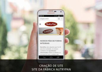 Criação de site em Brasília para fábria e indústria de pães integrais Nutrypan. Um dos pilares do Marketing Gastronômico. Criamos verdadeiras ferramentas de trabalho para divulgar e apresentar sua marca e empresa para seus clientes. E isso vai além de ter um simples site. Ele hoje precisa ser também responsive e poder ser visualizado por vários tipos de dispositivos.