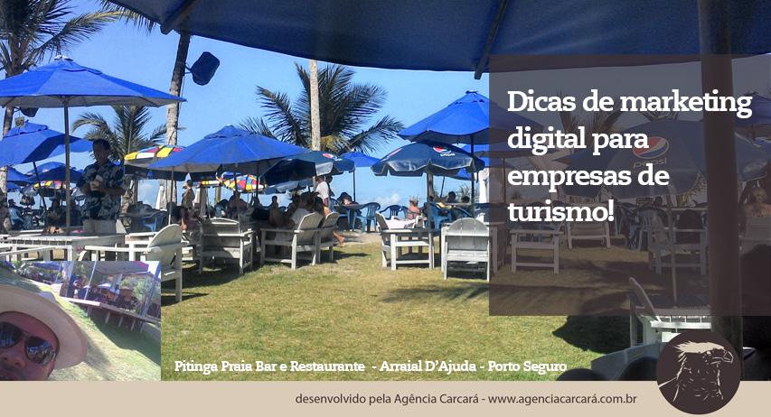 Confira preciosas dicas de marketing digital da Agência Carcará para empresas de turismo, ainda mais após experiência na semana do Saco Cheio de Porto Seguro.