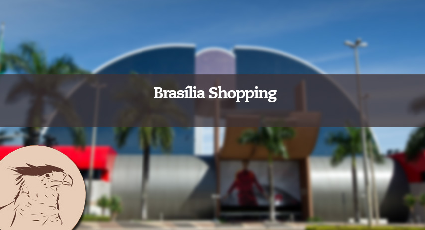 O Brasília Shopping é considerado ponto turístico para quem visita a cidade. Construído em 1997 e fica localizado no coração da cidade, no comecinho da Asa Norte.