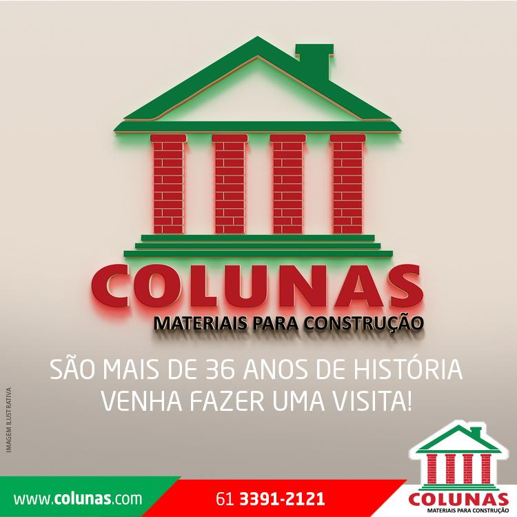 Planejamento de Comunicação para a Colunas Materiais para Construção