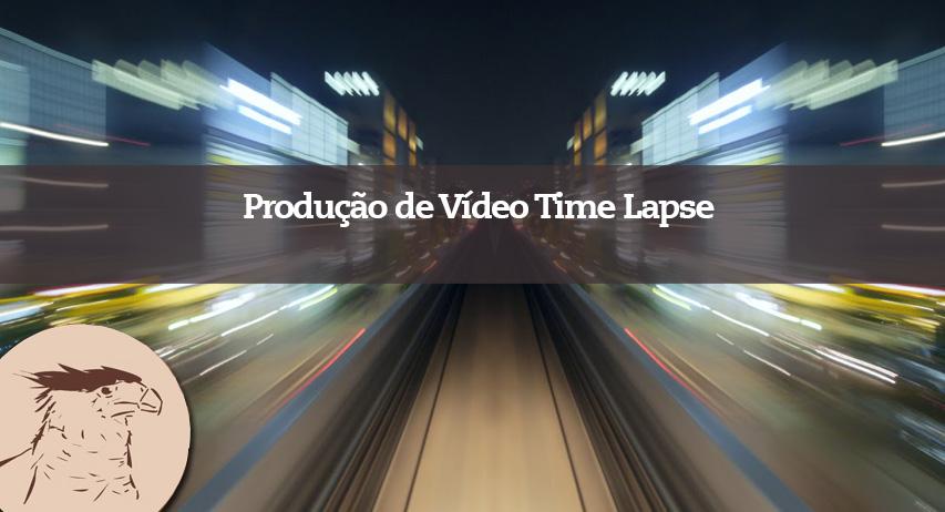 Produção de vídeo Time Lapse para acompanhar obras, produção de produtos, eventos ou serviços especializados de sua marca ou empresa.