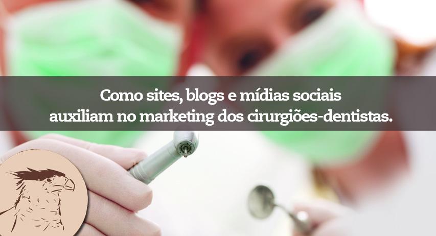 Como sites, blogs e mídias sociais auxiliam no marketing dos cirurgiões-dentistas. Confira as dicas da Agência Carcará que hoje é referência em marketing odontológico para clínicas e dentistas.