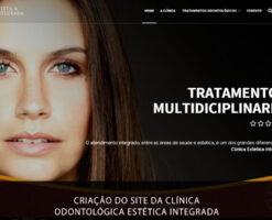 Criação de sites em Brasília da Clínica Odontológica Estética Integrada um desafio e ótimos resultados!