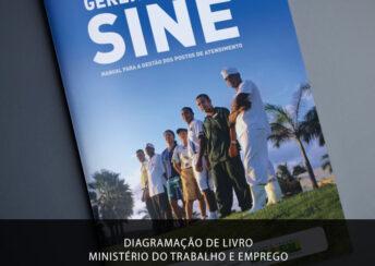 diagramacao livro ministerio do trabalho e emprego sine