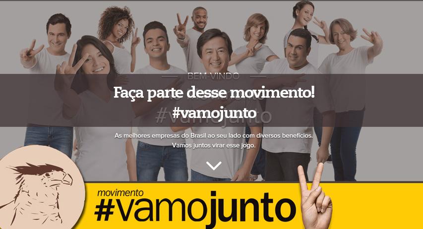 O QUE É O MOVIMENTO #VAMOJUNTO do GPABR Se tem uma coisa que o brasileiro sabe fazer, é juntar forças para conquistar sempre mais. Porquejuntos a gente corre atrás, e consegue realizar cada vez mais.