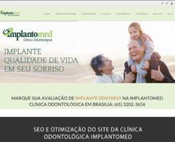 SEO para dentista é possível sim! Prova disso são os resultados com um de nossos clientes, uma clínica odontológica em Brasília! Ranqueado em Implante Dentário em Brasília!