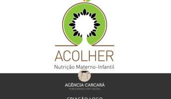 Criação logomarca para a Clínica de Nutrição Acolher Materno-Infantil em Brasília.