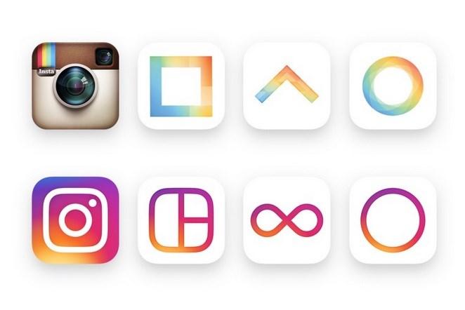 mudança instagram novo icone e layout