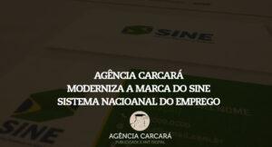 Agência Carcará moderniza a logomarca do SINE (Sistema Nacional do Emprego) que é utilizada em todas as Agências dos Trabalhadores no Brasil
