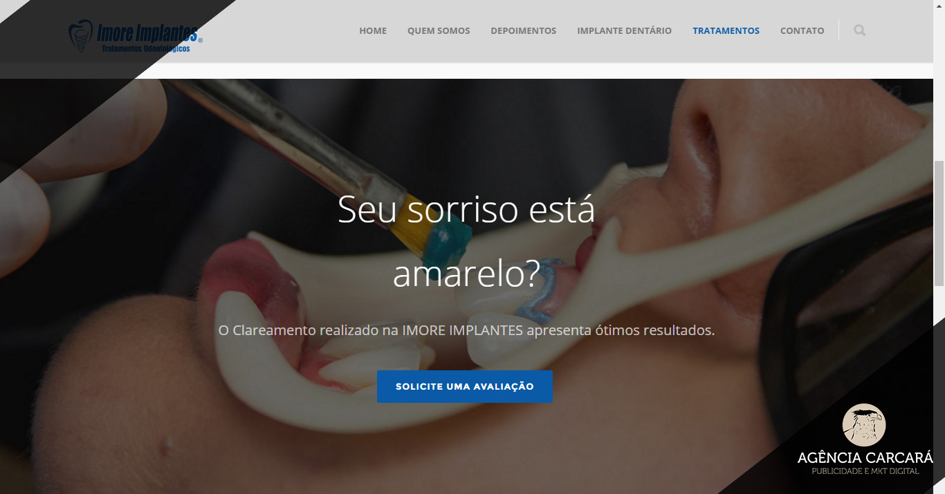 criacao-site-imore-implantes-marketing-odontologico-brasilia