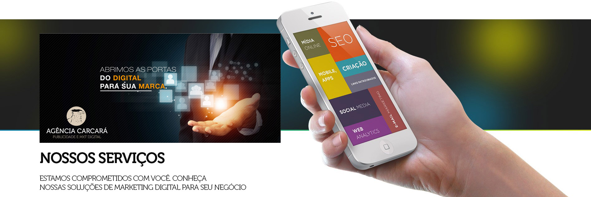 Agência de Marketing Digital em Brasília Conheça nossos serviços de MKT Digital da Agência Carcará de Comunicação e Publicidade