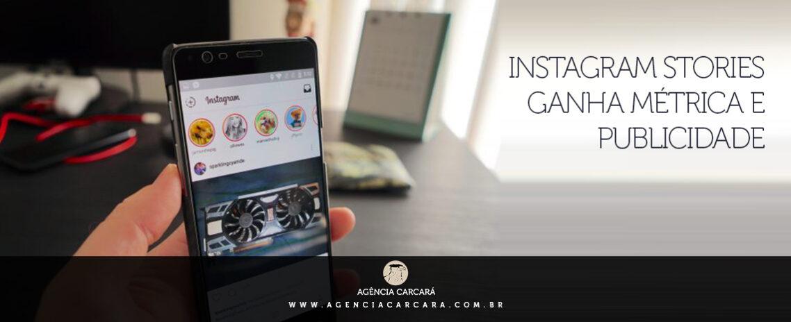 Instagram Stories ganha novas métricas e publicidade. Empresas e marcas agora podem investir em conteúdo específico para o feed de histórias do Instagram!