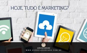 Afinal, tudo em uma empresa é marketing! Hoje o marketing está em tudo na empresa. Afinal, marketing não é apenas o desenvolvimento de marcas e produção de peças para veiculação, entre outras, em rádio, jornais, emissoras de tv e também na internet.