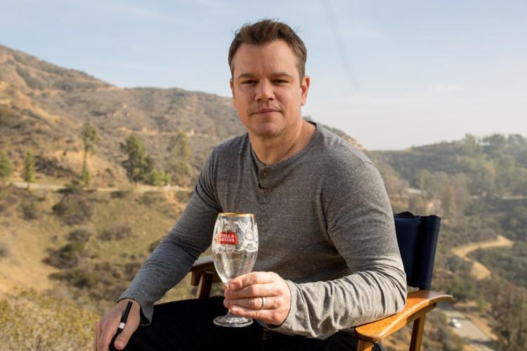 Matt Damon e Stella Artois se unem para combater a crise hídrica no mundo