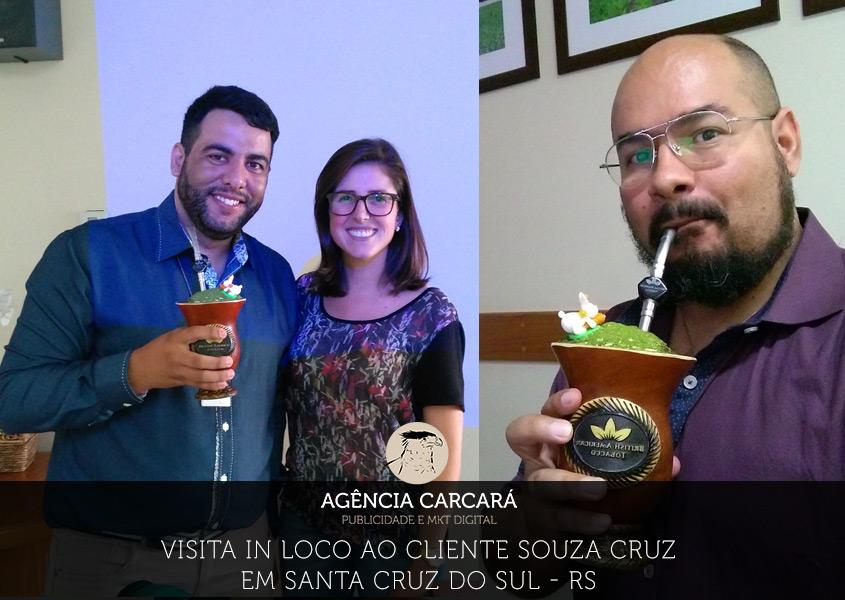 No começo de abril de 2017 a Agência Carcará, foi convidada a participar de um ciclo de palestras, como também para conhecer toda a cadeia de negócios da Souza Cruz