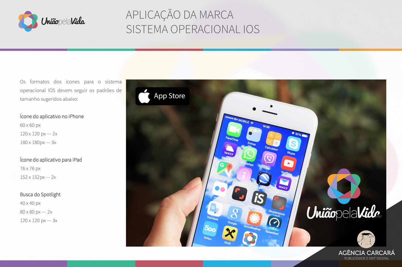 Criação do logo para o aplicativo de financiamento coletivo (crowdfunding) União Pela Vida Rede Salesiana Brasil.