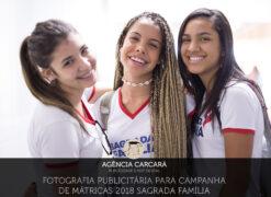 Fotografia publicitária campanha matrícula Rede SAFA Brasília