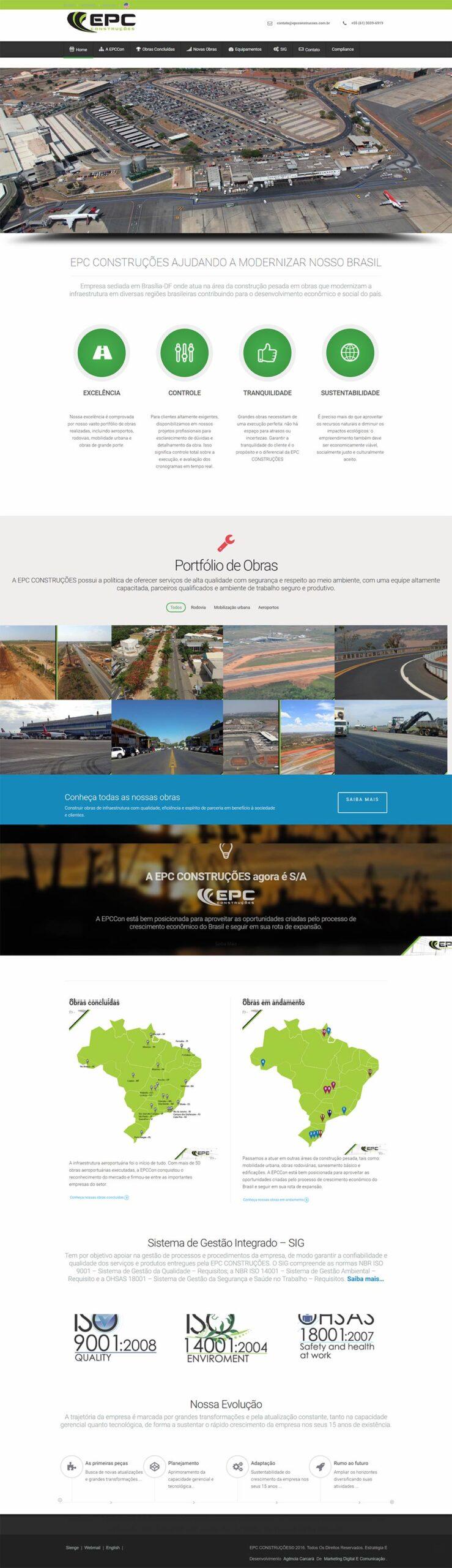 Somos especializados em desenvolvimento e modernização de sites e portais profissionais em Brasília e utilizamos as mais modernas tecnologias existentes na internet para seu projeto.
