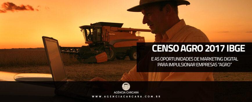 O Censo Agro 2017 IBGE identificou, até o momento, 5.072.152 estabelecimentos agropecuários no Brasil, em uma área total de 350.253.329 hectares. Veja dicas de como impulsionar seu negócio com o Marketing Digital no Agronegócio e Agroindustria