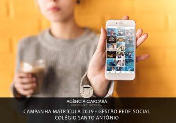 Projeto de Campanha de matrícula 2019 para o Colégio Santo Antônio onde desenvolvemos uma gama de publicações, durante 4 meses, nas redes sociais para fomentar a captação de novos alunos.