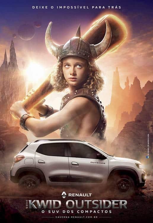 Live action de Caverna do Dragão? Calma que ainda não é o filme! Mas você pode conferir o final de Dungeons Dragons nessa incrível propaganda da Agência DPZ&T para o lançamento do novo Renault Kwid Outsider.