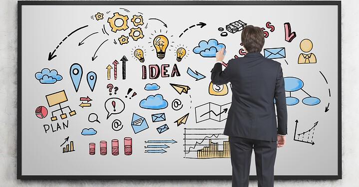 Produção de vídeos em animação para empresas e produtos com técnica de whiteboard ou draw my life