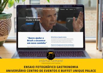 Desenvolvimento do site do Senador Oriovisto Guimarães, eleito em 2018 pelo PODEMOS (PODE) O intuito do projeto desse site é o de apresentar as atividades parlamentares do recente senador, em seu primeiro mandato, além de auxiliar também no chamado Marketing Político.