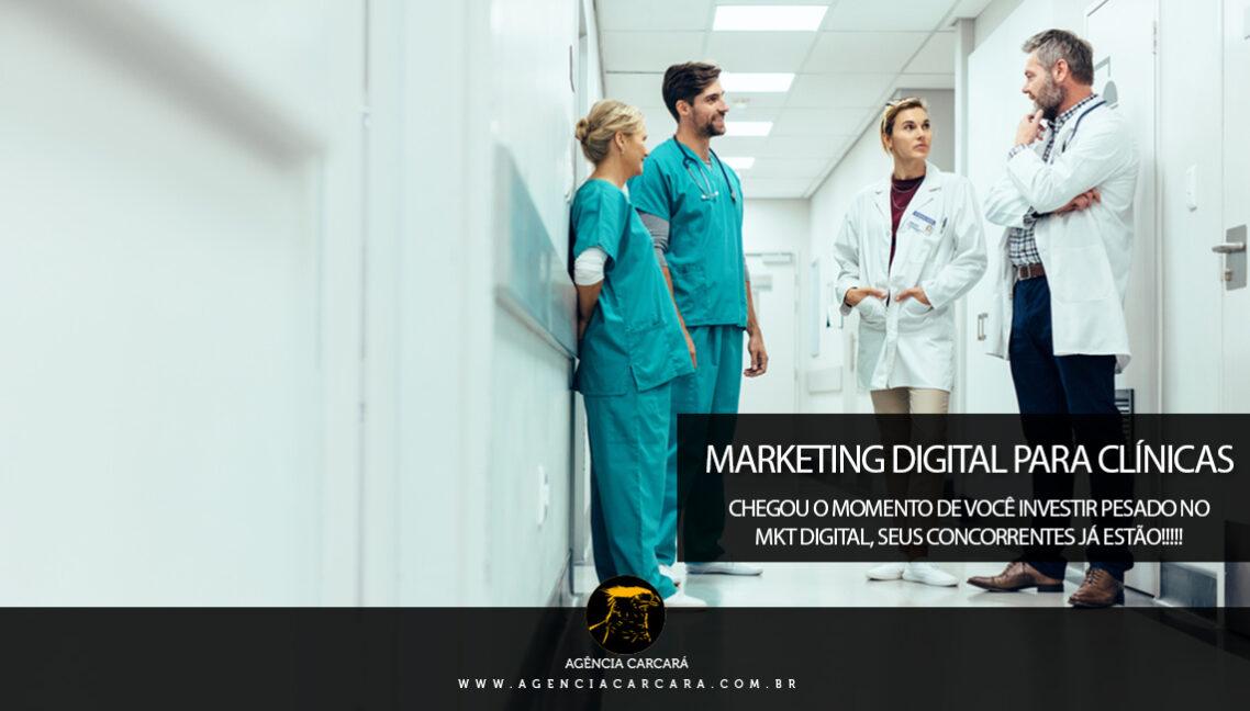 Marketing digital para clínicas, consultórios e centros médicos: como conquistar novos pacientes em um mercado altamente competitivo em Brasília e Regiões.