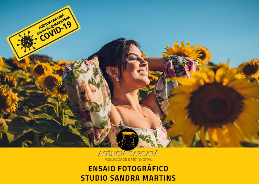Ensaio fotográfico externo para humanização das publicações e site do Studio Sandra Martins de Estética Facial durante a pandemia COVID-19
