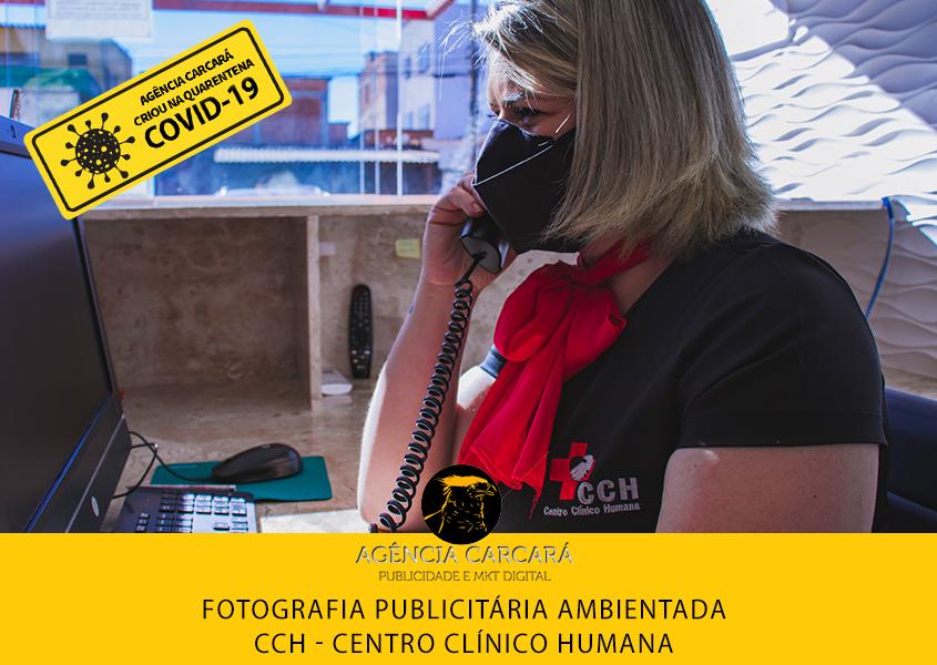 Ensaio fotográfico publicitário Centro Clínico Humana CCH. Item fundamental para o marketing digital do Centro Clínico.