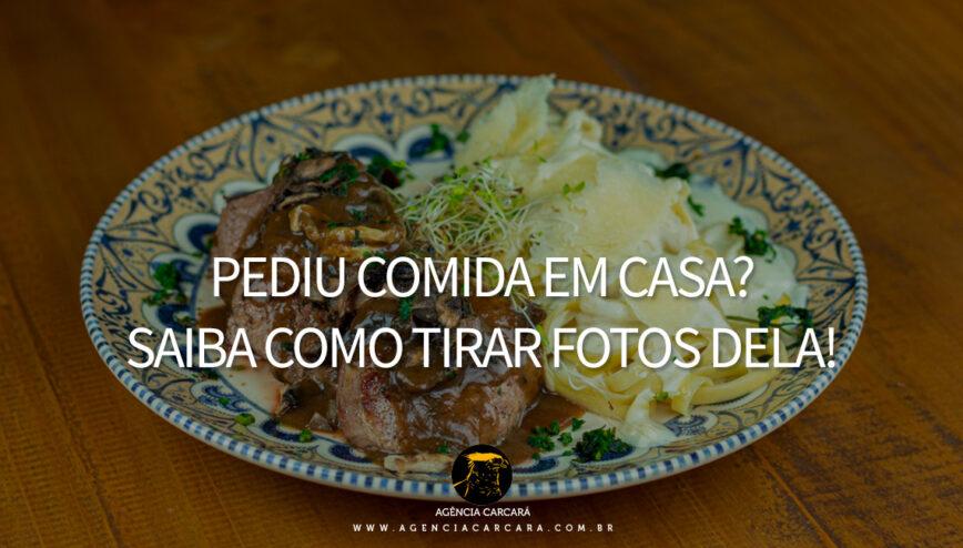 Como tirar fotografias de sua comida como se estivesse num restaurante, mesmo comendo na segurança de casa, você pode registrar os alimentos dos seus restaurantes preferidos.