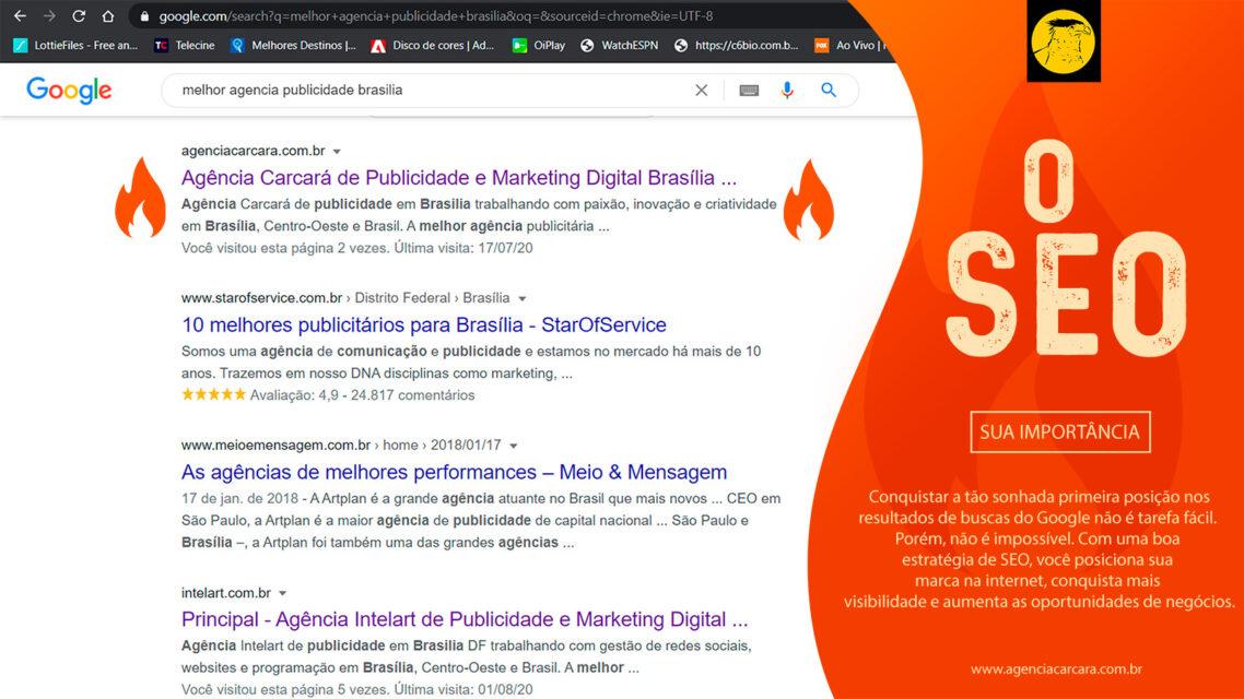 SEO Search Engine Optimization é um conjunto de técnicas utilizadas para aumentar o número de visitantes de um site de forma orgânica, isto é, sem publicidade.