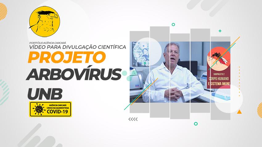 Produção de vídeo promocional para divulgação científica da UNB: Mosquitos e a transmissão de arbovírus