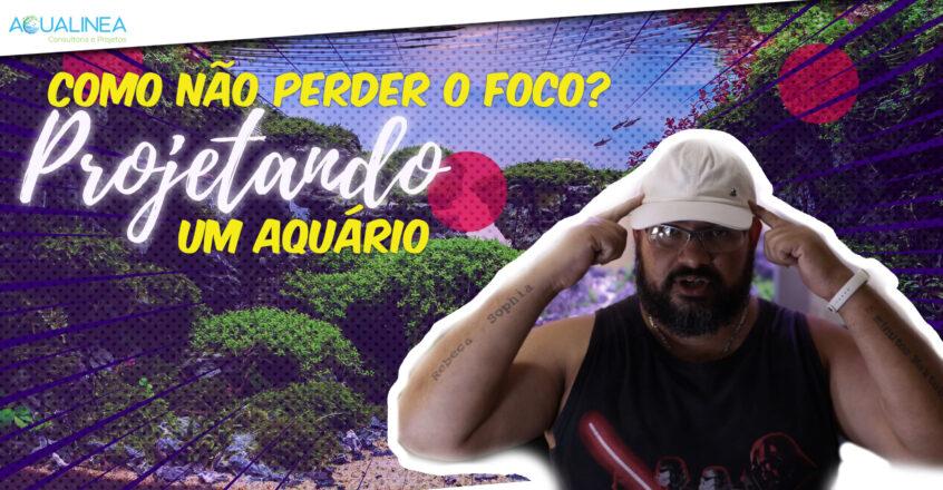 Iniciando a produção de vídeos promo para o canal do Youtube da Aqualinea Aquapaisagismo