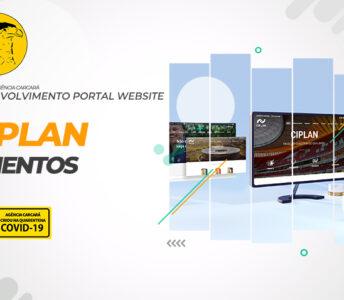 Desenvolvimento de Portal Web para a 4ª cimenteira do país a CIPLAN CIMENTOS. Projeto desenvolvido em Wordpress